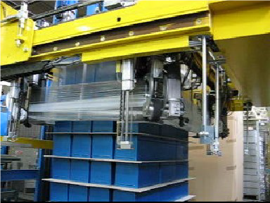 stretch hooding machine